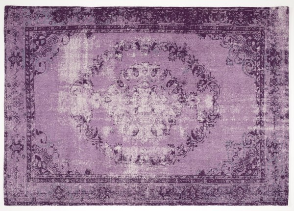 Vintage-Orient-Teppich MEDAILLON, lila