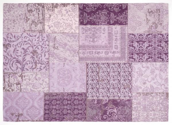 Vintage-Orient-Teppich PATCHWORK, lila