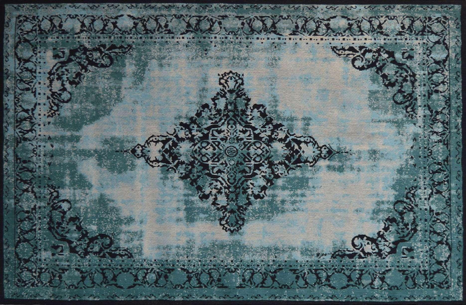 Orientteppich türkis  Vintage-Orient-Teppich ANTIQUITY, 170 x 240 cm, türkis | Teppich ...