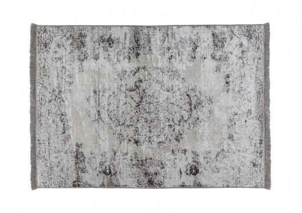 Vintage-Teppich VAN DYCK, 200 x 300 cm, grau