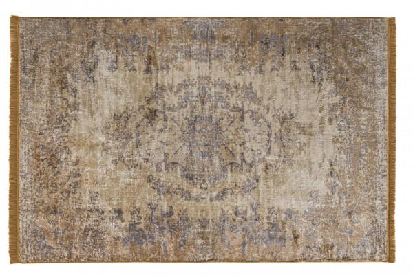 Vintage-Teppich VAN DYCK, 170 x 240 cm, gelb