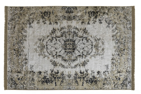 Vintage-Teppich VAN DYCK, 170 x 240 cm, grün