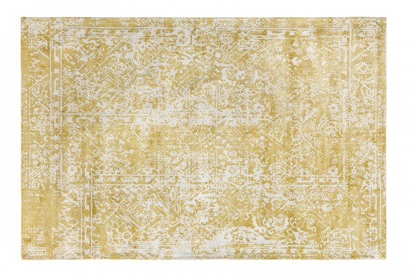 Vintage-Teppich RUFUS, 170 x 240 cm, gelb/natur