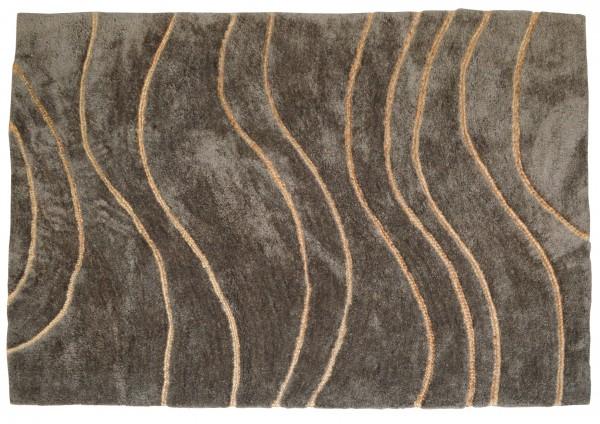 Design-Teppich SIGN, 170 x 240 cm, dunkelgrau