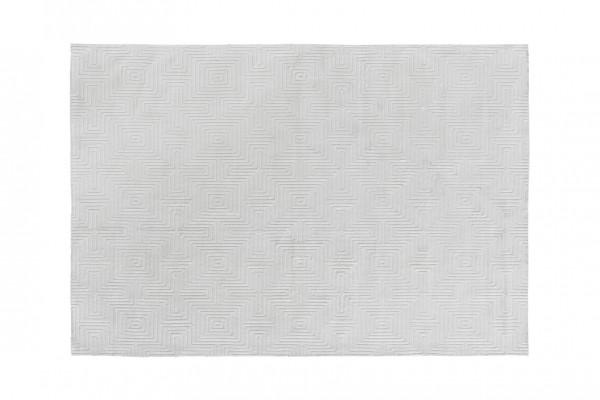 Design-Teppich LABYRINTH, 160 x 230 cm, altweiß